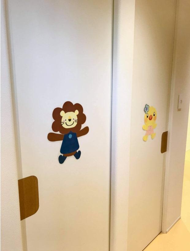 しあわせ子供クリニックの隔離室